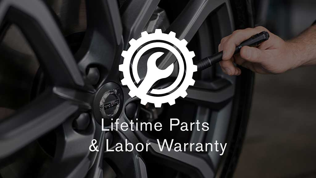 Lifetime Parts & Labor